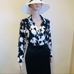 Worthington woman's blouse size L